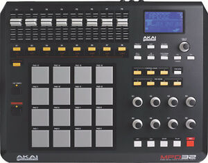 Akai Professional MPD32 with Ableton Live Lite