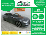 2014 Audi A6 Saloon 3.0BiTDI (313bhp) Quattro ***BUY FOR ONLY £99 PER WEEK***