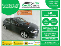 2013 Audi A3 2.0TDI ( 150BHP ) Sportback, Sport ***BUY FOR ONLY £50 PER WEEK***