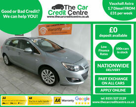 2013, Vauxhall Astra 1.7 diesel ***BUY FOR ONLY £31 A WEEK***