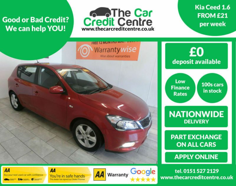 2010 Kia ceed 1.6 ( 124bhp ) ***BUY FOR ONLY £21 PER WEEK***