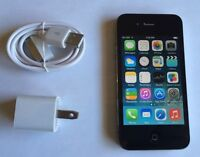 BLACK IPHONE 4 32GB LOCKED TO ROGERS IN 9/10 CONDITION