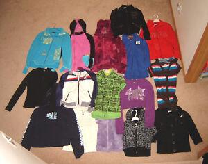 Tops and Hoodies - sizes 10, 12, 14, ladies S, M