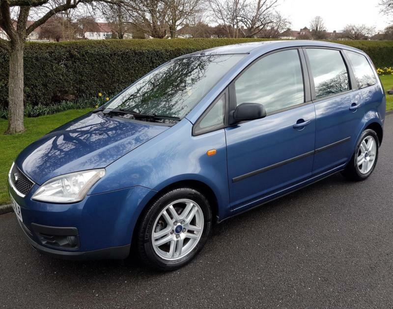 ford focus c max 1 6 16v zetec 5 door 2006 blue. Black Bedroom Furniture Sets. Home Design Ideas
