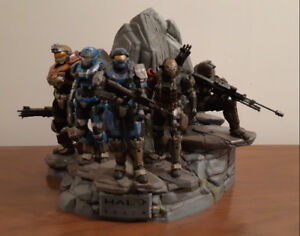 HALO REACH NOBLE TEAM Statue Limited Legendary Edition with Box