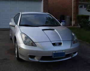 5 Speed - 2001 Toyota Celica - lady driven