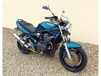 SUZUKI GSF 1200 BANDIT - LOW MILES - DELKEVIC EXHAUST - HISTORY - MAY PX