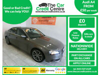 2012 Audi A4 2.0TDI ( 134bhp ) ***BUY FOR ONLY £50 PER WEEK***