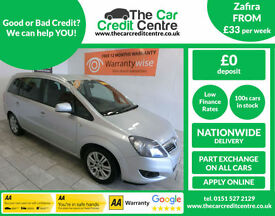 2011 Vauxhall/Opel Zafira 1.7CDTi 16v E/F Design ***BUY FOR ONLY £38 A WEEK***