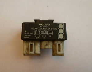 Volvo Cooling Fan relay