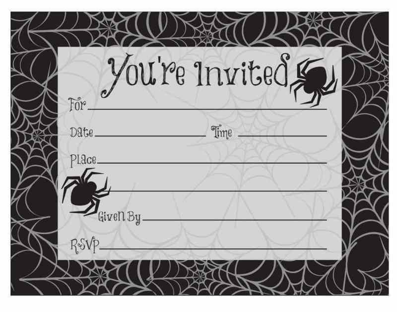 Hand out Halloween Block Party Invitations!
