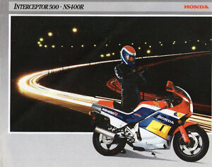 HONDA NS 400R 1986 BROCHURE