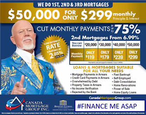 LOWEST RATES: 1st,2nd,3rd MORTGAGES - 100/100 APPROVED