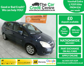 2011 Vauxhall Zafira 1.7CDTi E/F Elite ***BUY FOR ONLY £26 A WEEK***