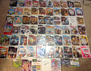 Over 60 Nintendo Wii Games and Accessories / Console
