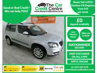 2014 Skoda Yeti Outdoor 2.0TDI CR Elegance ***BUY FOR ONLY £45 PER WEEK***
