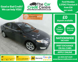 2009 Ford Mondeo 2.2TDCi 175bhp Titanium X...buy for only 26 per week...