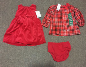 Girl's Christmas Outfit (Carter's - 18mo) - New & Unworn