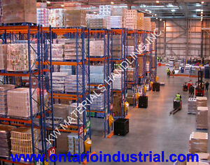 PALLET RACKING & SHELVING IN STOCK. LOW PRICES & FAST DELIVERY Kitchener / Waterloo Kitchener Area image 10