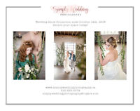Simply Wedding Photography  Fall Wedding Show Promotion EXTENDED