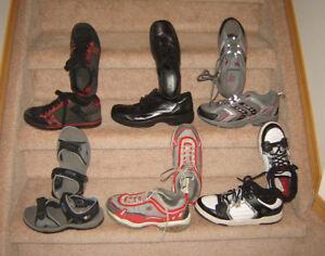 Boys Footwear - sz 5 to 8 / Clothes sz 7/8, 10, 12, 14