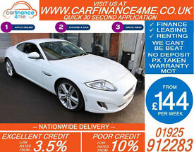 2013 JAGUAR XK 5.0 V8 AUTO CAR FINANCE AVAILABLE FROM 144 P/WK