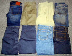 Mens jeans pants 7 pairs