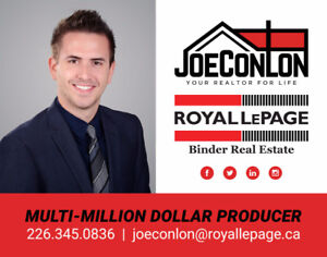 LOOKING TO BUY OR SELL A HOME? CALL 226-345-0836 FOR HELP! :)