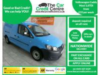 2011 Volkswagen Caddy Maxi 1.6TDI 102bhp C20 Maxi **BUY FOR ONLY £33 PER WEEK**