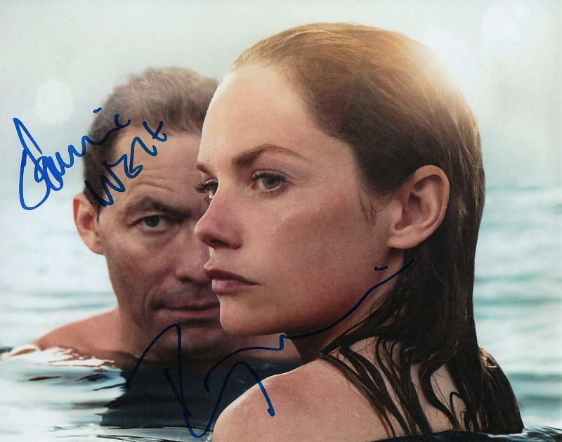THE AFFAIR.. Ruth Wilson with Dominic West - SIGNED