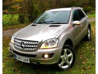 Mercedes-Benz ML280 3.0TD CDi**SPORT 4Matic 7Gtronic**10 Stamps,2Keys,Superb..