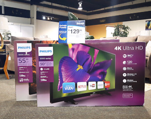 Two TVs $129.99/month