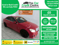 2009 Mercedes-Benz C220 2.1TD auto CDI Sport ***BUY FOR ONLY £38 PER WEEK***