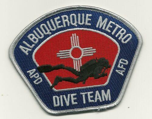 Dark Blue Scuba Dive Albuquerque Police State New Mexico NM