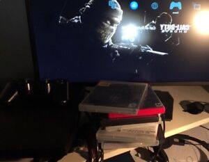 PS3 300gb with Asus VG245H gaming monitor