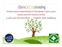 Childcare/ childminder