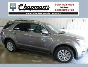 2011 Chevrolet Equinox LTZ AWD, Leather, Sunroof, Power Liftgate