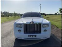 Self drive hire +chauffeur available for wedding car events Rolls-Royce Phantom ANYWHERE IN THE UK