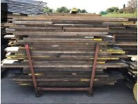 2ft - 13ft used scaffold boards