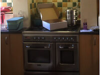 Terim range cooker with fan assisted oven