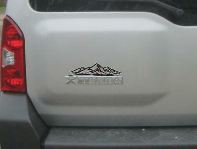 NEW Mountain Decal fits Nissan Xterra Off Road Pro-4x Jeep Wrangler lift Mud USA