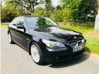 2005 BMW 525D 6 SPEED MANUAL 12 MONTHS MOT IMMACULATE CONCEPTION.