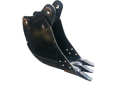 New 12 Backhoe Bucket For A Jcb 214