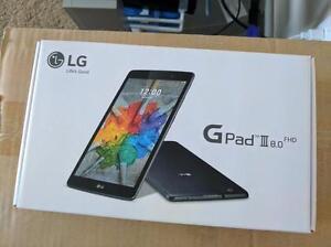 LG G Pad 3 LTE Unlocked  with Full Hd Display