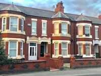Crewe - Two bedroom or one bedroom/two reception room versatile renovated apartment in Crewe