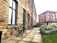 Northfield Mill a desirable one bedroom duplex apartment in Wakefield, close to motorway links