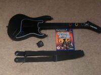 PS2 - GUITAR HERO III | Game + Guitar