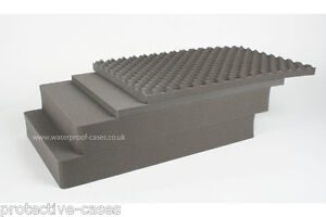 Genuine PELI 1650 REPLACEMENT  Pre Cubed Pick N Pluck FOAM SET Limited Available