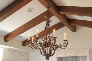 Fausses poutres de bois - Faux Wood Beams