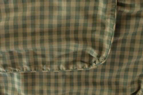 PAIR OF CHELSEA TEXTILE DECORATIVE THROW PILLOW CASES gingham green Swedish